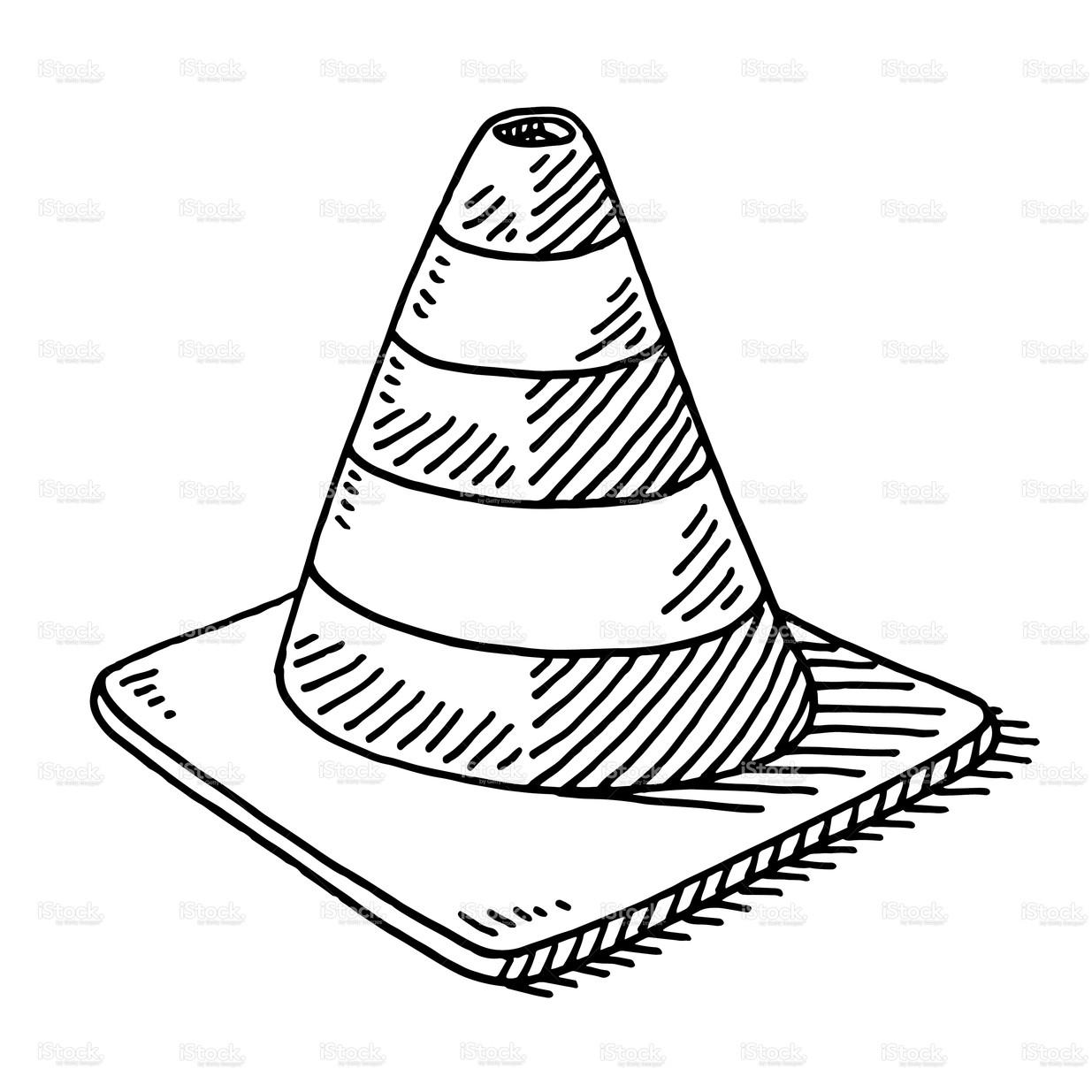 stock-illustration-42836684-traffic-cone-drawing - Dorris and Associates